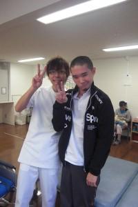 Jun and his PT buddy!