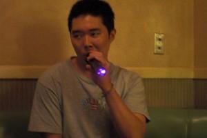 singing at Karaoke! How fun!!