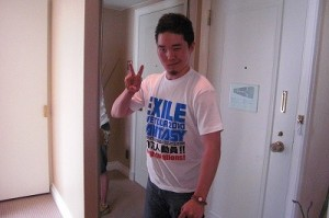 The super nice gift! The EXILE staff T-shirt!