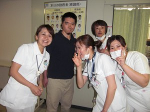 病棟の看護士さん方♡♡