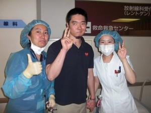 ERの先生と看護士さん